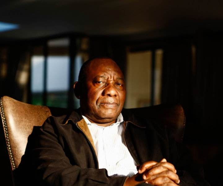 23 July 2017. What Ramaphosa told Zuma about state capture and the need for a commission? Cyril Ramaphosa South African politician, businessman, activist, and trade union leader who has served as the Deputy President under President Jacob Zuma since 2014, sat down with the Sunday Times at his private residency in Hyde Park, Johannesburg, Gauteng. Picture: Moeletsi Mabe/Sunday Times